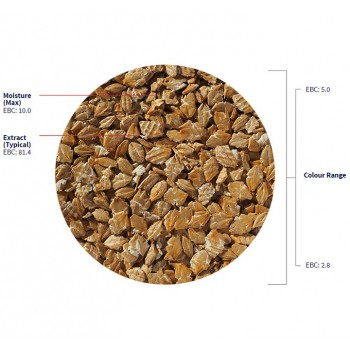 Flaked Torrefied Barley - Kornflingor (Lösvikt)